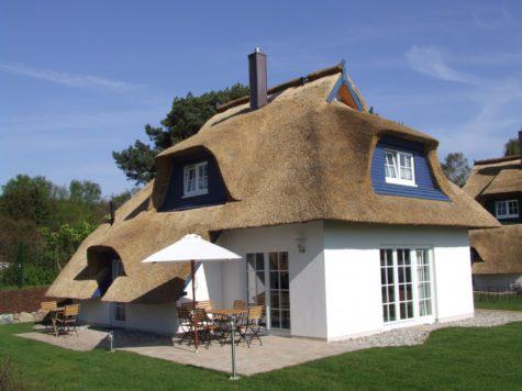 Das blaue Haus – Ferienträume unter Reet, 17459 Zempin, Ferienhaus